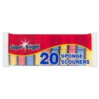 Super Bright 20 Sponge Scourers